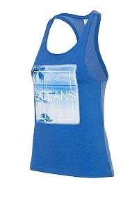 4F Dámske tielko 4f Oceans Blue modrá XS