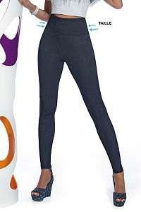 Basbleu Dámske legíny v džínsovom dizajne Blair modrá XL