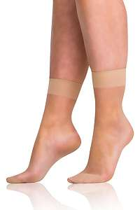Bellinda Silonkové ponožky Bellinda FLY 15 DEN almond almond uni