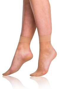 Bellinda Silonkové ponožky Bellinda FLY 15 DEN amber amber uni
