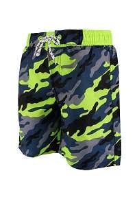 Chlapčenské kúpacie šortky Army