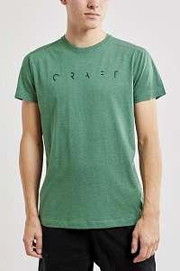 CRAFT Pánske tričko CRAFT Deft II tmavozelená L