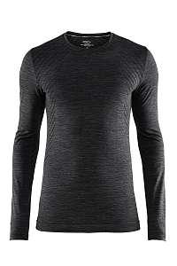 Craft Pánske tričko Craft Fuseknit Comfort tmavosivé tmavosivá L