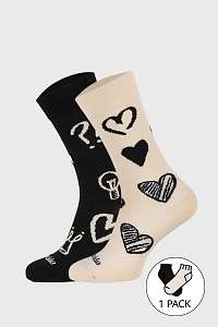Fusakle Ponožky Fusakle Symbol viacfarebná-38