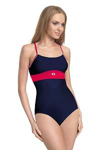 GWINNER Dámske jednodielne plavky Roxi modro-červená