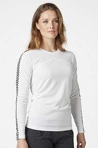 Helly Hansen Dámske biele tričko s dlhými rukávmi Helly Hansen biela M