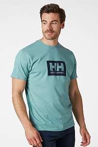 Helly Hansen Pánske zelené tričko Helly Hansen zelená L