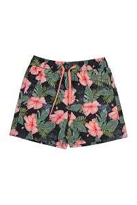 Lentiggini a Mila Swimwear Chlapčenské kúpacie šortky Forest viacfarebná 164