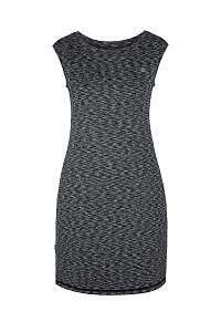 LOAP Dámske čierne športové šaty LOAP Mamba ČIERNA M