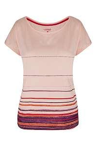 LOAP Dámske ružové tričko LOAP Alby ružová XS