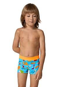 LORIN Chlapčenské plavky Happy viacfarebné 122