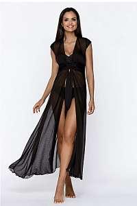 LORIN Plážové šaty Julie ČIERNA L/XL