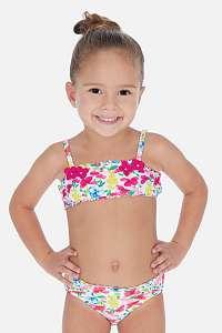 Mayoral Moda Infantil, S:A.U. Dievčenské dvojdielne plavky Flowers viacfarebná 6