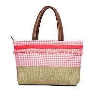 Phax Plážová taška Maracas z kolekcie Phax ružová uni