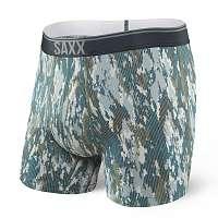Saxx Pánske boxerky SAXX Quest 2.0 Bark Camo farebná S