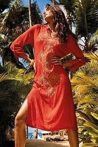 Vacanze Plážové šaty Bruna Orange oranžová L