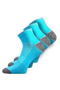 VOXX 3 pack športových ponožiek Ray neónovo-tyrkysové tyrkysova-38