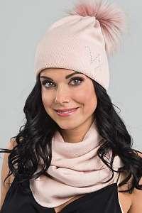 VOXX Dámska čiapka Clio ružová uni
