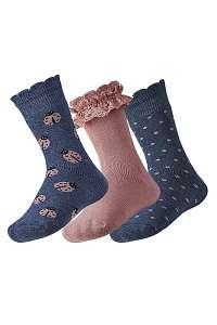 Ysabel Mora 3 pack detských hrejivých ponožiek Lily farebná-31