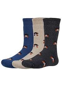 Ysabel Mora 3 pack detských hrejivých ponožiek Verth farebná-31