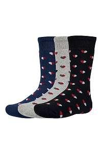Ysabel Mora 3 pack detských hrejivých ponožiek Yrako farebná-28