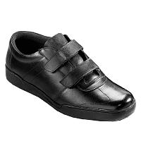 Blancheporte Kožené vychádzkové topánky čierna