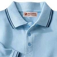 Blancheporte Pánske tričko s krátkymi rukávmi nebeská modrá 87/96 (M)