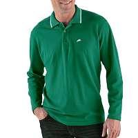 Blancheporte Polo tričko s dlhými rukávmi jedľová 77/86 (S)