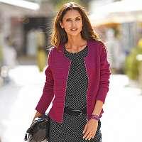 Blancheporte Prešívaná bunda purpurová