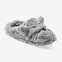 Blancheporte Domáce papuče Myšky, z umelej kožušiny sivá