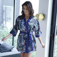 Blancheporte Kimono s potlačou džungle Andrée Sorant viacfarebná 052
