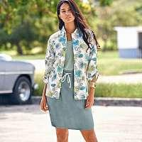 Blancheporte Košeľa s potlačou ražná/zelená