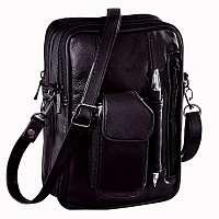 Blancheporte Kožená taška čierna