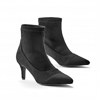 Blancheporte Nízke čižmy s elastickou gumou čierna