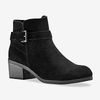 Blancheporte Nízke čižmy so sponou, čierna čierna