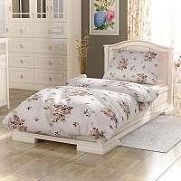Blancheporte Obliečky bavlna Provence Adel biela/béžová obliečka na vankúšikx40cm