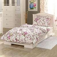 Blancheporte Obliečky bavlna Provence Cler biela/ružová obliečka na vankúšikx40cm