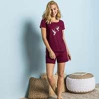 Blancheporte Pyžamo so šortkami a krátkymi rukávmi, potlač
