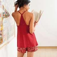 Blancheporte Pyžamo so šortkami terakota