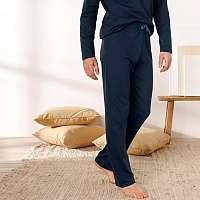 Blancheporte Pyžamové nohavice, námornícky modré nám.modrá