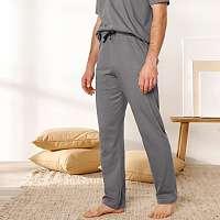 Blancheporte Pyžamové nohavice, tmavosivé tmavo sivá