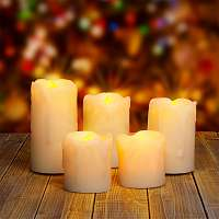 Blancheporte Súprava LED sviečok