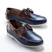 Blancheporte Vychádzkové topánky nám.modrá/gaštanová
