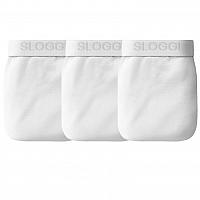 Blancheporte Zatvorené slipy, strih mini, súprava 3 ks biela 85/90 (M)