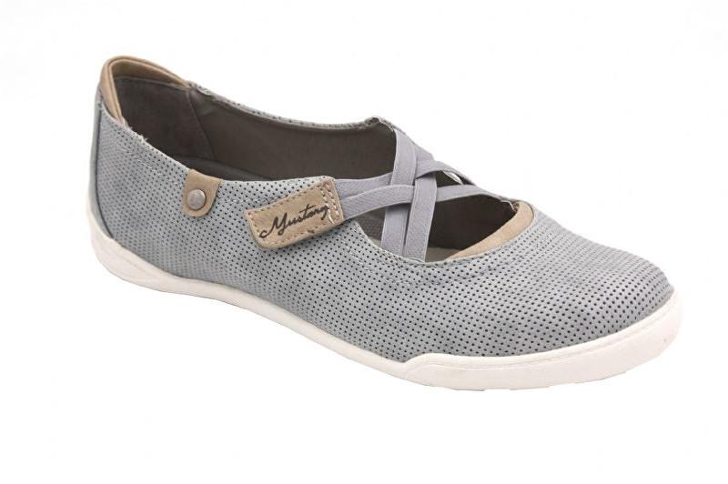 72f17f848 Modré dámske topánky z kože   TopModa.sk
