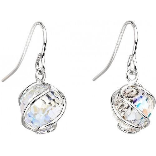 Preciosa Náušnice Romantic Beads Crystal AB 6716
